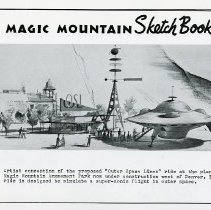 Image of Magic Mountain Sketch Book #5