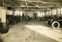 Image of Inside Garage of the Williams Transportation and Investment Co.