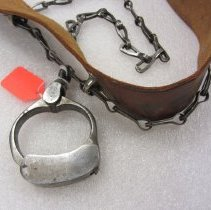 Image of Jefferson County jail shackle