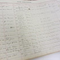 Image of Jefferson County Jail Register 1878-1929