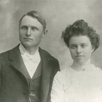 Image of Lottie and Charles Easley wedding photograph