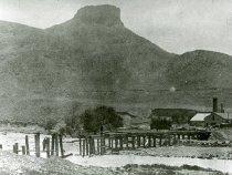Image of 1896 Tucker Gulch flood and Cambria Brick Company