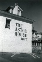 Image of Side view of the Astor House