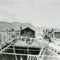 Image of Construction at Camp George West