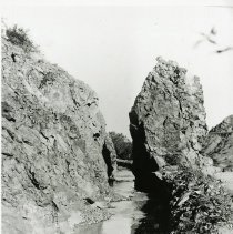 Image of Lady Finger Rock Formation