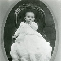 Image of Baby in a chair