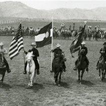 Image of Rodeo Flag Presentation