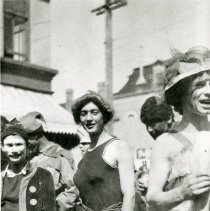 Image of Young men in costumes
