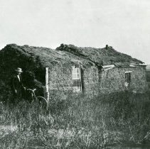 Image of Sod house