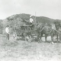 Image of Hay wagon