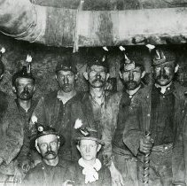 Image of Miners in Little White Ash Mine