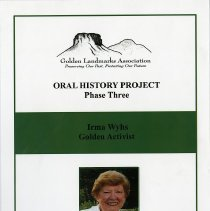 Image of Irma Wyhs Oral History Project