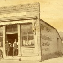 Image of Haas Block with W. F. Kipfer Clothing Store