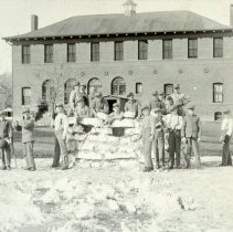 Image of Boys playing at the State Industrial School for Boys