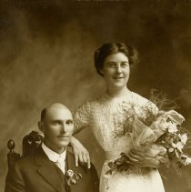 Image of August A. Koch and Isabella Bengson Wedding