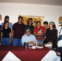Image of Vine Deloria Booksigning at Table Mountain Inn