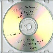Image of Copy of Jackie McFarland oral history