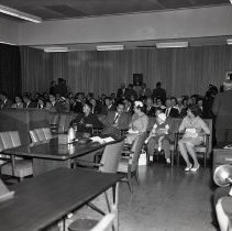 Image of Swearing in ceremony for Harold E. Bray 1962