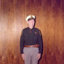 Image of Sheriff Harold E. Bray in uniform