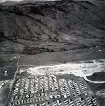 Image of East Tin Cup Village Mobile Home Park aerial