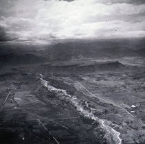 Image of Golden valley aerial view