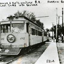 Image of Denver & Northwestern Railroad