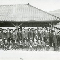 Image of Group of boys at Golden Depot
