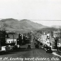 Image of Main street in Golden