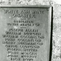 Image of White Ash Mine marker