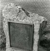 Image of White Ash Mine marker