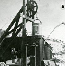 Image of Hoist at a mine