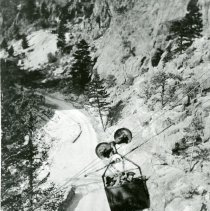 Image of Cable car in the mountains