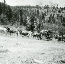 Image of Hauling mining equipment
