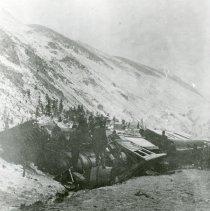 Image of Train derailment