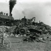 Image of Train wreckage