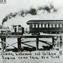 Image of Denver, Lakewood, Golden Railroad