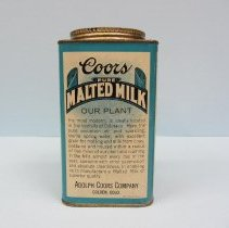 Image of Coors Pure Malted Milk can