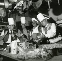 Image of Golden Lions Club Members Making Chili