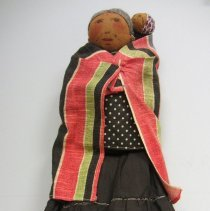 Image of Woman doll with baby