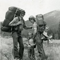Image of Patrick Smith and family hiking