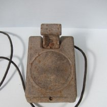 Image of Reed drive-in speaker, back