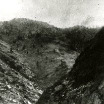 Image of Railroad tracks through Clear Creek Canyon