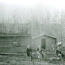 Image of Log cabin at Lincoln Camp