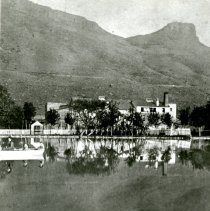 Image of Coors Mansion and pond