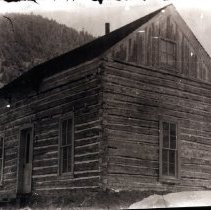 Image of Large log cabin