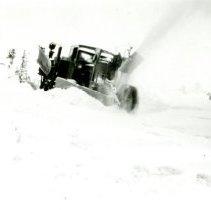Image of Snowplow on Lariat Trail