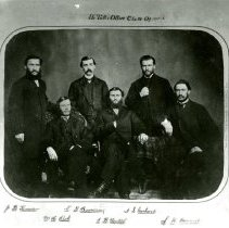 Image of Dr. Tutt's office class of 1865-66