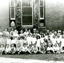 Image of Sunday school children