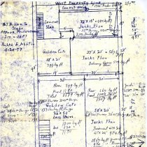 Image of Copy of Everett Building blueprint