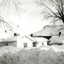 Image of Houses in 1913 snow storm